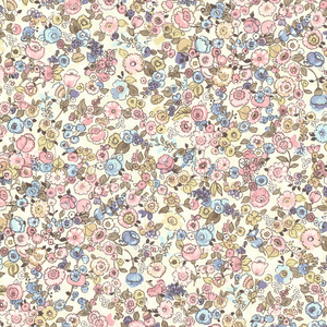 Pradera Blush Vintage Floral Wallpaper 341534