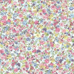 Pradera Sky Vintage Floral Wallpaper 341535