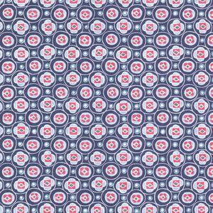 La Rambla Ocean Modern Geometric Wallpaper 341552