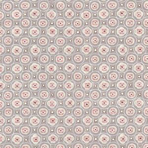 La Rambla Pewter Modern Geometric Wallpaper 341554