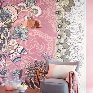 Tiger Blush Floral Patchwork 341583