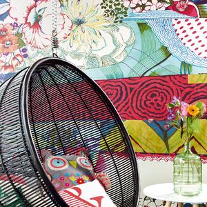 Vintage Mix Multicolor Bohemian Floral 341593
