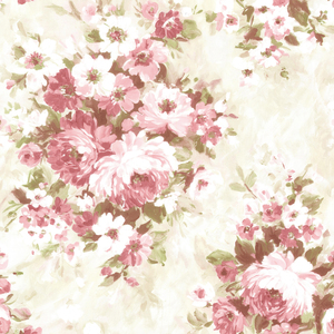Belle Rose Floral Bouquet Wallpaper 2605-21600