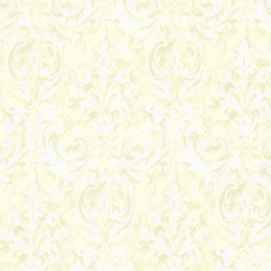 Aurora Yellow Damask Wallpaper 2605-21611