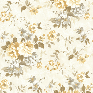 Eloise Yellow Floral Wallpaper 2605-21612
