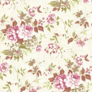 Eloise Pink Floral Wallpaper 2605-21613