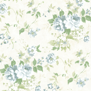 Eloise Blue Floral Wallpaper 2605-21616
