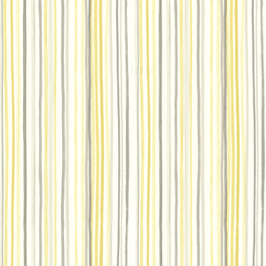 Estelle Yellow Watercolor Stripe Wallpaper 2605-21633