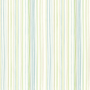 Estelle Blue Watercolor Stripe Wallpaper 2605-21634