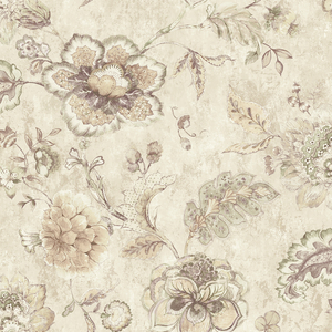 Olivia Mauve Jacobean Floral RW40009