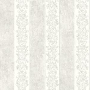 Octavio Light Grey Embellished Stripe RW40300