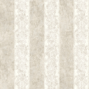 Octavio Taupe Embellished Stripe RW40306