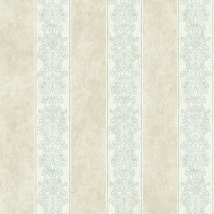 Octavio Aquamarine Embellished Stripe RW40308
