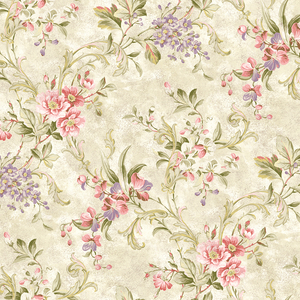 Donatella Cream Floral Trail RW40408
