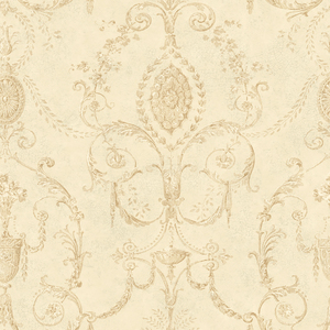 Marche Neutral Damask Urn RW40508