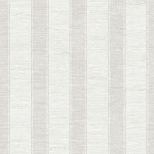 Lucette Light Grey Textured Stripe RW40700