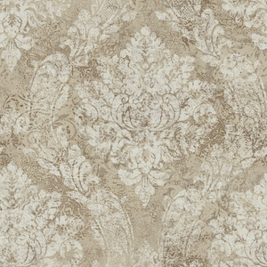 Fabriana Espresso Heirloom Damask RW40806