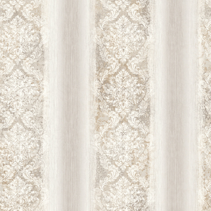Feliciano Light Grey Ombre Damask Stripe RW40905