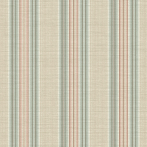 Stansie Aquamarine Fabric Stripe RW41204