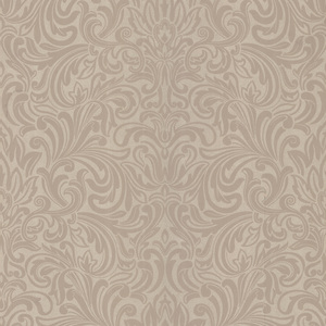 Royale Champagne Wavy Damask Wallpaper 601-58442