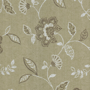 Adelise Olive Jacobean Wallpaper 601-58449