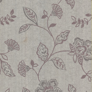 Adelise Mauve Jacobean Wallpaper 601-58450
