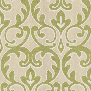 Dior Light Green French Damask Wallpaper 601-58456