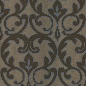 Dior Light Brown French Damask Wallpaper 601-58460