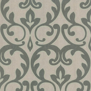 Dior Sage French Damask Wallpaper 601-58461