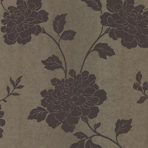 Keika Mauve Japanese Floral Wallpaper 601-58466