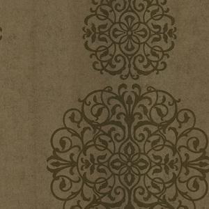 Iman Gold Medallion Wallpaper 601-58472