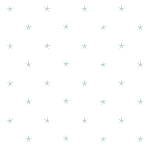 White Sands Green Starfish Wallpaper DLR54542