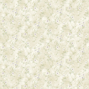 Capri Purple Floral Trail Wallpaper DLR54632