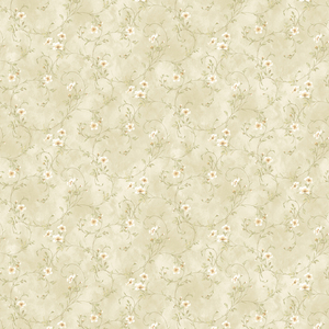 Capri Beige Floral Trail Wallpaper DLR54634