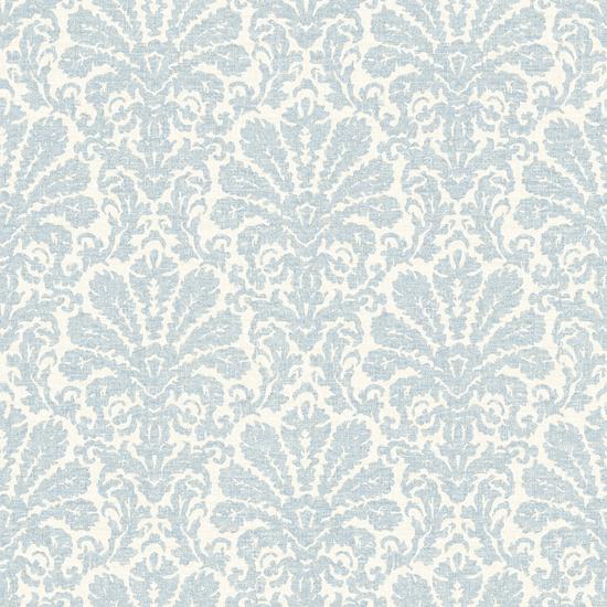 Seascape Blue Damask Wallpaper DLR54641