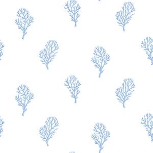 Islamorada Ivory Coral Branch Wallpaper DLR54662