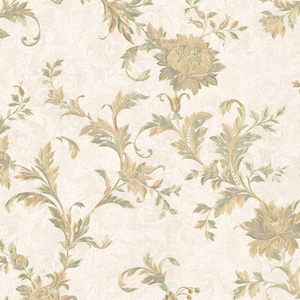 Lulu Moss Jacobean Trail Wallpaper 2530-20500