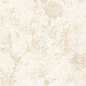 Lulu Beige Jacobean Trail Wallpaper 2530-20501