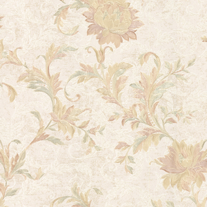 Lulu Sepia Jacobean Trail Wallpaper 2530-20502