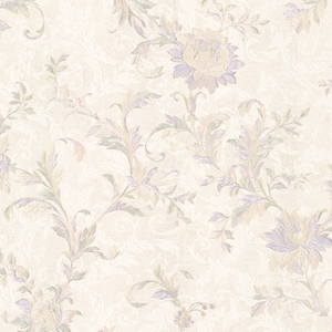 Lulu Lavender Jacobean Trail Wallpaper 2530-20503