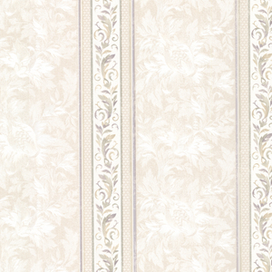 Katherine Lavender Ornate Stripe Wallpaper 2530-20507