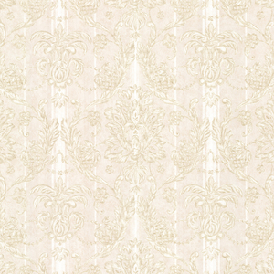 Gabrielle Beige Damask Wallpaper 2530-20509