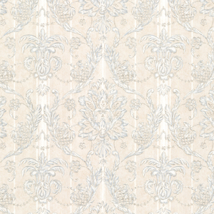 Gabrielle Blue Damask Wallpaper 2530-20511