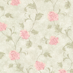 Louise Green Vintage Floral Trail Wallpaper 2530-20520