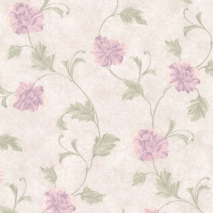 Louise Lavender Vintage Floral Trail Wallpaper 2530-20523