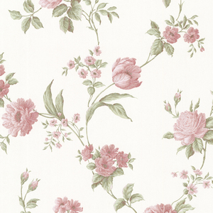 Laetetia Pink Floral Trail Wallpaper 2530-20529