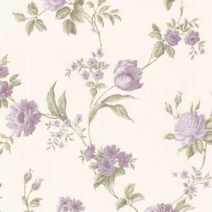 Laetetia Lavender Floral Trail Wallpaper 2530-20530