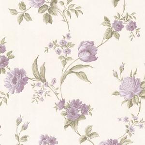 Laetetia Lavender Floral Trail Wallpaper 2530-20530
