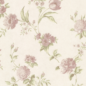 Laetetia Mauve Floral Trail Wallpaper 2530-20531