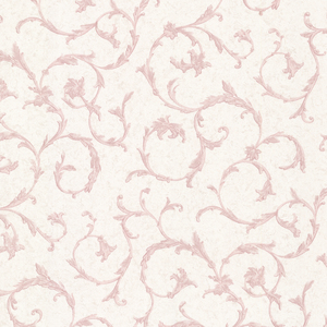 Clover Pink Acanthus Scroll Wallpaper 2530-20539